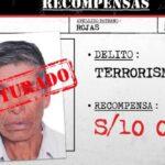 Policía captura en Ayacucho a presunto mando militar terrorista