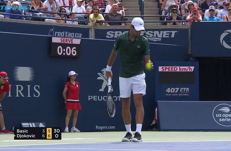 Djokovic derrotó a Basic en Toronto