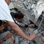 Miles de turistas buscan una salida de Lombok tras el seísmo de magnitud 6.9