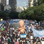 Argentina: Miles marchan contra despenalización y legalización del aborto