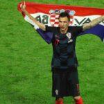 Delantero Mario Mandzukic anuncia su retirada de la selección de Croacia