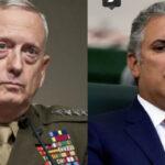 EEUU: Secretario de Defensa Mattis hablará con el presidente Duque sobre el caso de Venezuela