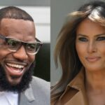 Melania Trump elogia la labor de Lebron James tras ataques del presidente