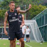 Neymar Jr. se incorpora a la concentración del PSG en China