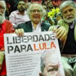 Brasil: Premio Nobel de la Paz Pérez Esquivel se sumó este lunes a marcha por Lula libre (VIDEO)