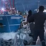 Canal de la Mancha: Pesquero británico embistió a barco francés endisputa por mariscos (VIDEO)