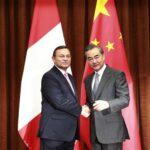 Popolizio reafirma en China la oposición de Perú al auge del proteccionismo