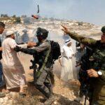 Fuerzas israelíes reprimen manifestaciones pacíficas en Palestina