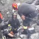 Italia: Suspenden operaciones de búsqueda ante el peligro denuevos derrumbes en viaducto