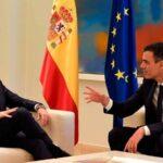 Primera reunión entre socialista Sánchez y nuevo líder conservador, Casado