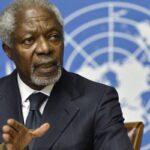 Ghana: Muere a los 80 años Kofi Annan exsecretario general de la ONU