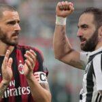 El Milan hace oficial los fichajes del argentino Higuain y Caldara
