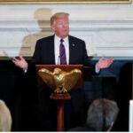"""Trump advierte de """"violencia de izquierda"""" si su partido pierde las elecciones al Congreso"""