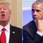 EEUU: Trump rechaza que considerase retirar credenciales de inteligencia a expresidente Obama