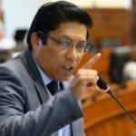 Interpelación: Zeballos sostiene que irá al Congreso con la mejor disposición