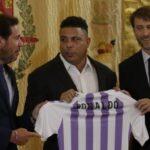 Ronaldo se convierte en accionista mayoritario del Real Valladolid