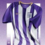 Alianza presenta camiseta blanquimorada por mes del Señor de los Milagros