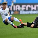 Bundesliga: Wolfsburgo logra su 2da victoria (3-1) ante Bayer Leverkusen