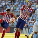 Liga Santander: Atlético de Madrid sucumbe (2-0) ante el Celta de Vigo