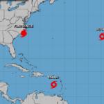 Florence cae a categoría 1 a 70 kilómetros de la costa de EEUU