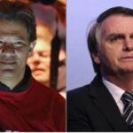 Brasil: Última encuesta revela queHaddadcrece y derrotaría a Bolsonaro en segunda vuelta