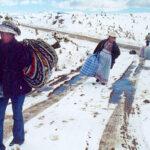 Temperatura desciende a -19 grados en distritos de Arequipa y Tacna