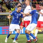 Liga de Naciones de la UEFA: Italia y Polonia empataron 1 a 1