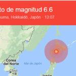 Japón: Terremoto de 6.6 grados remece la isla de Hokkaido (VIDEO)