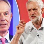 Blair cree que los británicos nunca escogerían a Corbyn como primer ministro