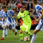 Liga Santander: Barcelona en dos minutos de confusión cae por 2-1 ante Leganés