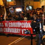 Así fue la marcha #FueraChávarry por calles de Lima (Fotos)