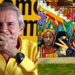 Artistas latinoamericanos embellecen La Paz con murales gigantes; pobre Castañeda