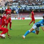 Liga de Italia: Nápoles gana al Fiorentina 1-0 y Sampdoria golea 5-0 a Frosinone