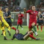 Portugal sin Cristiano Ronaldo en partido amistoso empata 0-0 con Croacia