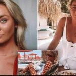 Grecia: Investigan misteriosa muerte demodelo australiana en yate de magnate mexicano (VIDEO)