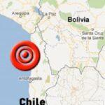 Sismo de 5 grados Richter sacude dos regiones en el norte de Chile