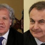 España oficializa protesta a la OEA por los insultos de Almagro contra Rodríguez Zapatero