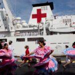 Llega a Venezuela un buque hospital chino para brindar apoyo médico
