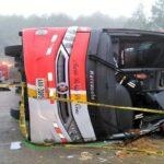 Ecuador: Once fallecidos y 37 heridos en accidente de tráfico