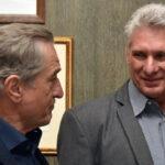 EEUU:Robert de Niro y artistas dialogaron con presidente cubano Miguel Díaz-Canel (VIDEO)