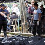 Casi un centenar de filipinos sepultados en una mina tras paso de Mangkhut
