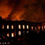 Brasil: Un incendio consume el Museo Nacional de Río de Janeiro