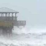EEUU: Furia del huracán Florence con fuertes lluvias se siente en Carolina del Norte (VIDEO)