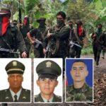 ELN libera a tres policías, un militar y dos civiles que tenía secuestrados
