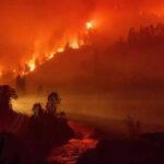 """EEUU: Voraz incendio """"Delta"""" arrasa 6.200 hectáreas en California en menos de 24 horas (VIDEO)"""