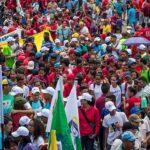 Chavismo marcha en Caracas en apoyo a Maduro y contra el imperialismo