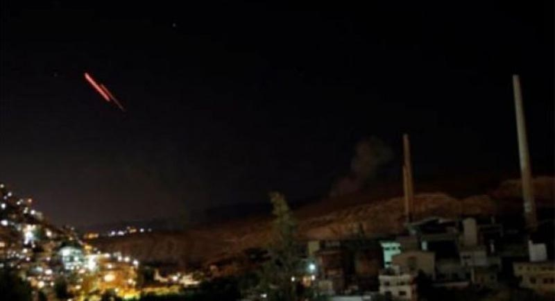 Siria intercepta misiles israelíes en Damasco, según agencia oficial