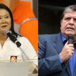 Keiko y García, los políticos con mayor rechazo popular en Perú, según sondeo