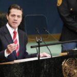 Peña Nieto se despide de ONU e insta al multilateralismo y desbloqueo de Cuba