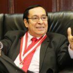 Presidente del Poder Judicial rechaza declaraciones de Vilcatoma (VIDEO)